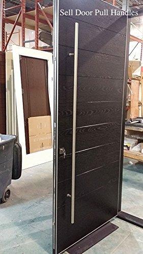 Apollo104goliton–acero inoxidable Sus304Modern entrada Entrada oficina comercial tienda vidrio garaje granero de madera madera puerta corrediza de oficina mangos de empuje Tire