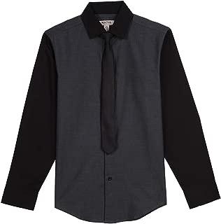 Kenneth Cole Big Boys' Stretch Shirt and Tie Set