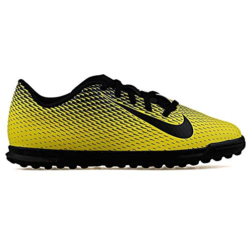 Nike JR Bravata II TF, Botas de fútbol para Niños, Multicolor (OPTI Yellow/Black/Black 701), 37.5 EU
