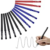 EULANT Gel Ink Roller Ball Pen 0.5mm, 12pcs Bolígrafo de tinta líquida para Office/School/Company/Home/Empresas