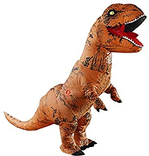 Adult Inflatable T-Rex dinosaur mascot Costume party Festival Park Halloween bar cosplay clothing size high 2.2m