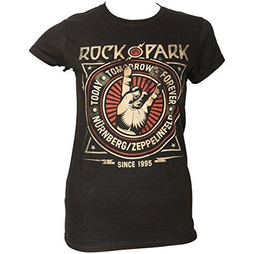 Rock IM Park - Cross Crest - Girlie - Shirt Größe L