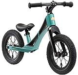 BIKESTAR Bicicleta sin Pedales de magnesio (Muy Ligero!) para niños y niñas 3-4 años | Bici con Ruedas de 12' Edición BMX | Verde