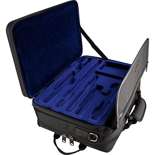 Protec Lux Combo Pro Pac Messengerbag für Flöten und Piccolos schwarz