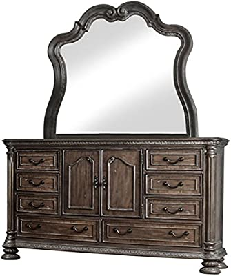 Amazon.com: San Mateo Dresser w/espejo: Kitchen & Dining