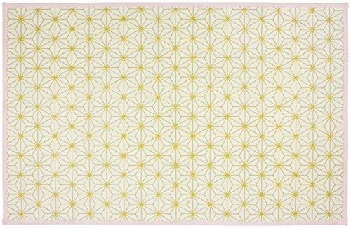Gelco Design 710624 Tapis de Bain, Coton/Latex, Or, 80 x 50 x 0,38cm