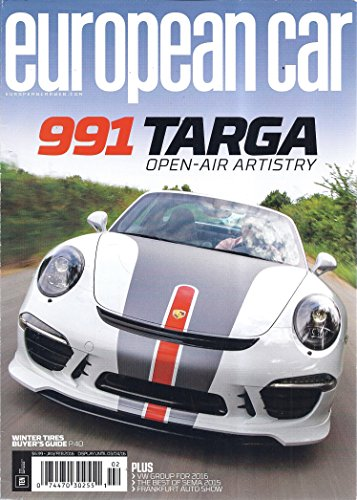 European Car (January/February 2016 - 991 Targa)
