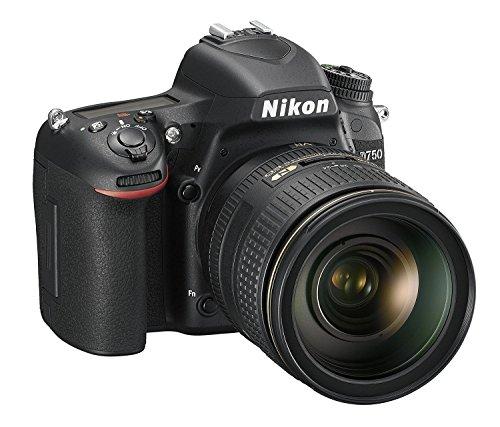 Nikon D750 Appareil photo numérique Reflex 24,3 Mpix Kit Boitier + Objectif 24120 mm Noir