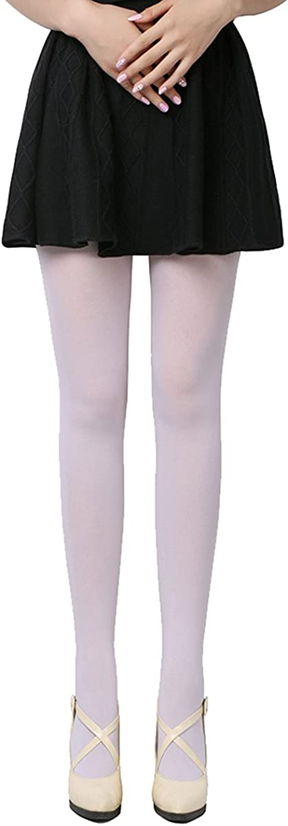 Women Spring Autumn Opaque Footed Tight Sexy Pantyhose Leg Warmers(without others)