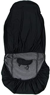 Funda para Asiento de Coche WINOMO Universal Cubierta Asiento Coche (Negro)