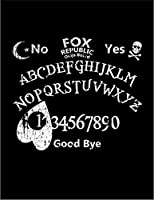【FOX REPUBLIC】【アルファベット 月 ハート】 黒光沢紙(フレーム無し)A4サイズ