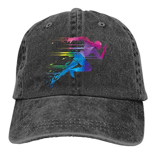 Running Man Gorra de béisbol Unisex Moda Casquette Glock Sombrero Gorra Ajustable para jóvenes Hombres Mujeres Sombreros Deportivos al Aire Libre