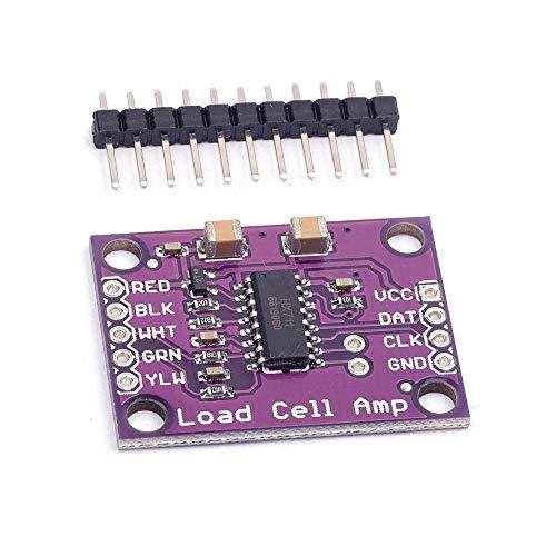 ARCELI CJMCU-711 HX711 Sensor de pesaje electrónico de celda de Carga Chip de convertidor A/D de 24 bits para balanza electrónica de Alta precisión y Arduino CYT1053
