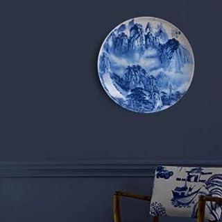 Homie Restauran Chino Placa Colgante Decorativa Fondo Pared Pintura Plato Jingdezhen cerámica 25cm