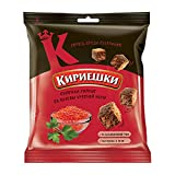 Kirieshki Rye Crackers Dry Bread Croutons with red caviar flavor
