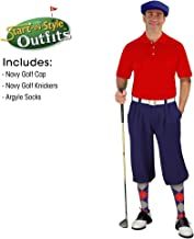 Golf Knickers Mens Start-in-Style Outfit - Navy