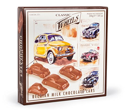 Classic Wheels Chocolate Cars, 200 g