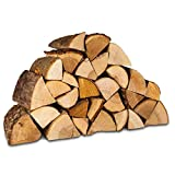 Hardwood Kiln Dried Firewood Logs. for Fire Pits, Chimineas, Wood Burners, Stoves, Fireplaces and More. Sustainably Sourced British Hardwood. Includes Free kindling.