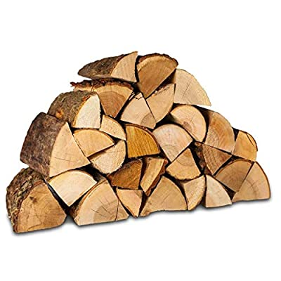 Kiln Dried Hardwood Firewood Logs. 30kg. Suitable for Stoves, Wood Burners, Fireplaces and More. Sustainably Sourced Hardwood. by Logpile