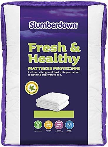 Slumberdown Anti Allergy Single Mattress Protector Single Bed