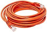 Cabo de Rede PlusCable PC-ETHU25RD Cat.5E 2.5M Vermelho Patch Cord - Conectores RJ45 Capa de PVC