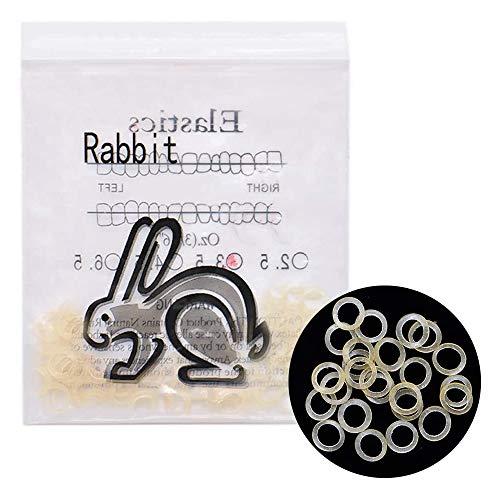 Angzhili 2 paquetes de bandas elásticas de goma para ortodoncia