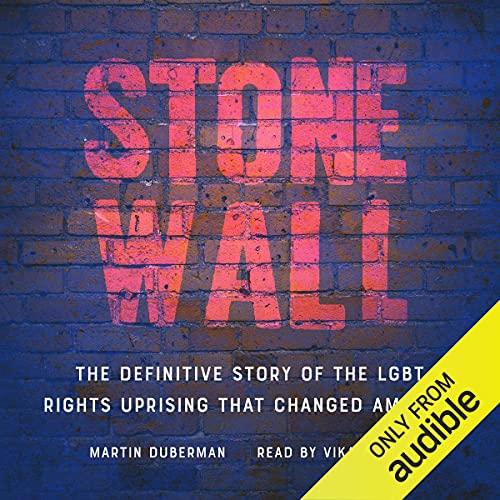 Diseño de la portada del título Stonewall