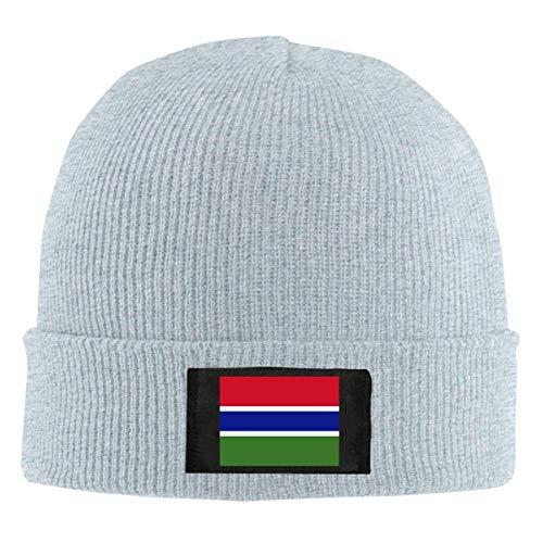 FULIYA Gorro de lana unisex con diseo de calavera de Gambia