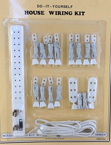 Melody Jane Casa de Muñecas Iluminación Accesorio Enchufes Enchufe Múltiple Kit de Iluminación 15 Piece Juego
