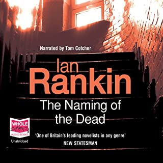 The Naming of the Dead audiobook cover art