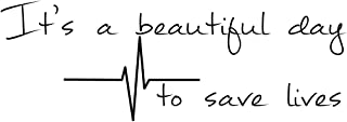 It's A Beautiful Day to Save Lives Derek Shepherd Grey's 6