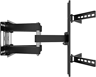 TV Stand Telescopic Articulated Arm Indoor Curved Screen TV Wall Mount Full Dynamic Can Be Fine-Tuned VESA Up to 600 * 400...