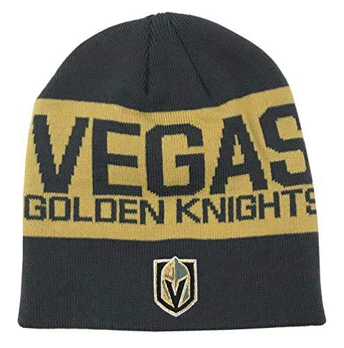 OuterStuff Vegas Golden Knights Adidas - Gorro de Punto