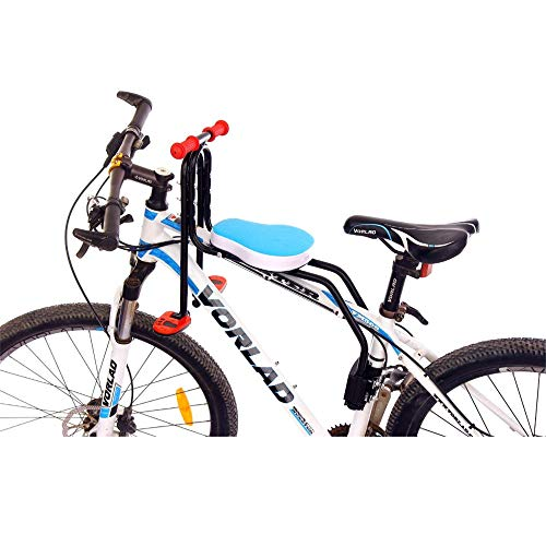 Travel Pillows Bicycle Child Seat A Child Safety Seat with Detachable Grips and Pedals, Suitable for Children's Mountain Bike/Electric Bicycle Seat Brackets from 2 to 6 Years Old