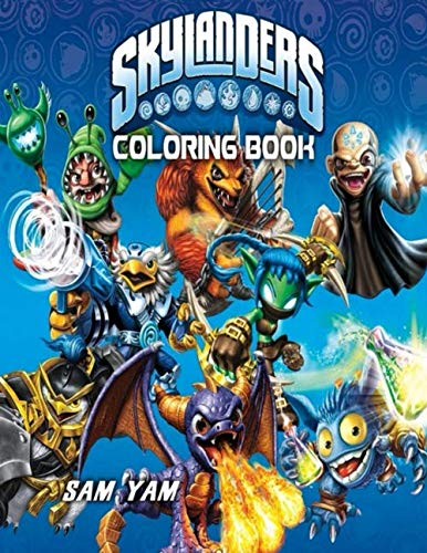 Skylanders Coloring Book: For Kids Ages 4-8