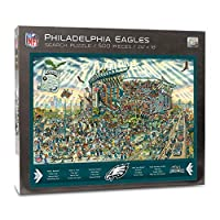 NFL Philadelphia Eagles Joe Journeyman Puzzle - 500-piece