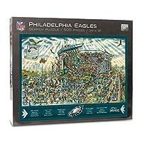 NFL Philadelphia Eagles Joe Journeyman Puzzle - 500-piece