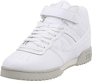 Men's F-13-Ripple White/White/Silver Birch High Top Sneakers Shoes Sz: 12