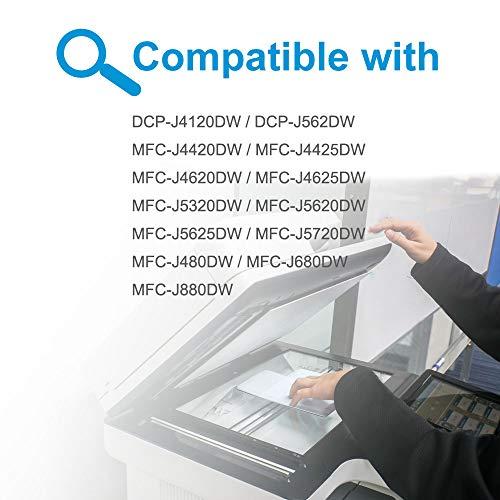 Teland 6 cartuchos de impresora LC223XL compatibles con Brother LC223 XL cartuchos MFC-J5320DW DCP-J4120DW MFC-J880DW DCP-J562DW MFC-J4420DW MFC-J4620DW MFC-J4625DW MFC-J480DW MFC-J5620DW MFC-J680DW