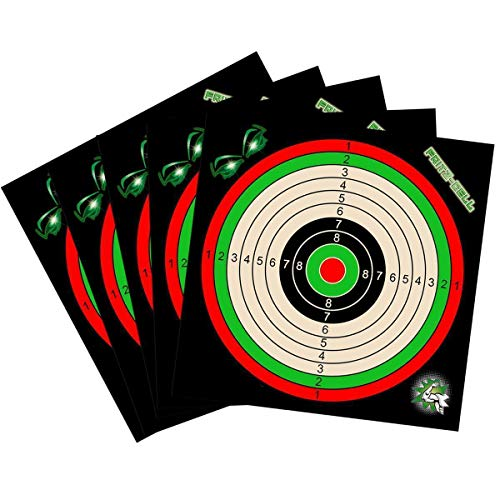 fritz-cell 200 Zielscheiben 17x17 cm Luftgewehr Luftpistole Airsoft und Kugelfang
