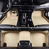 Alfombrillas Coche Cuero Impermeable Antideslizante Alfombra Auto Decoraciones de interior Delanteras y Traseras para KIA Shuma 2010-2017 Accesorios Cobertura Completa