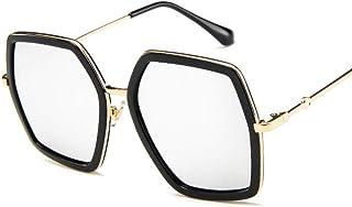Amazon.es: gafas aviador transparente - Plateado / Mujer: Ropa