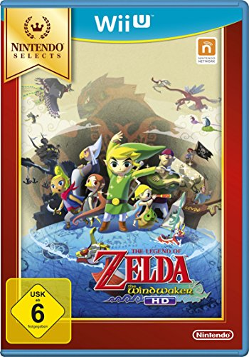 The Legend Of Zelda: The Wind Waker HD - Nintendo Selects [Importación Alemana]