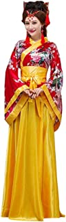 Chinese Costumes Hanfu Peacock Women Halloween Fancy Party Dress