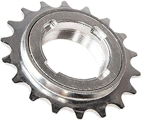 Meghna Einzelgeschwindigkeit Fahrradfreilauf 18/20 Zähne Schwungrad 1/2 x 1/8 Kompatibles Eine Geschwindigkeit Ersatzzubehör