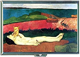 Paul Gauguin Loss of Virginity Stainless Steel ID or Cigarettes Case (King Size or 100mm)