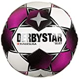 Derbystar Unisex– Erwachsene Bundesliga Club TT Fußball, Weiss Magenta grau, 5