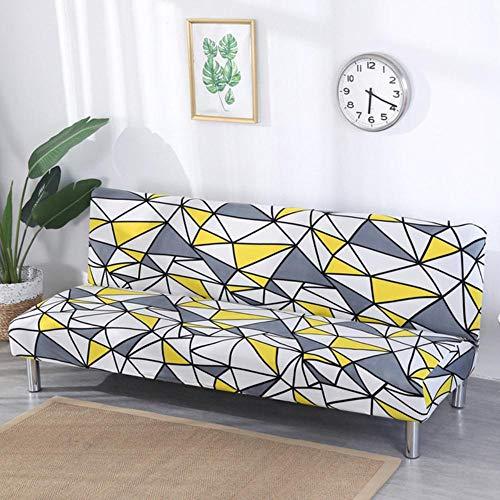 XCVBSofa hoes slaapbank hoezen voor huisdieren woonkamer wasbaar volledig verpakt zachte hoezen enkele bloemen bedrukte sofa covers spandex vouwen, kleur 2