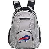 Denco NFL Buffalo Bills 19' Premium Laptop Backpack, Gray, Large (NFBBL704_Gray)