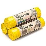 Relevo Sacchi Spazzatura 100% riciclati, 30 litri, 45 unità
